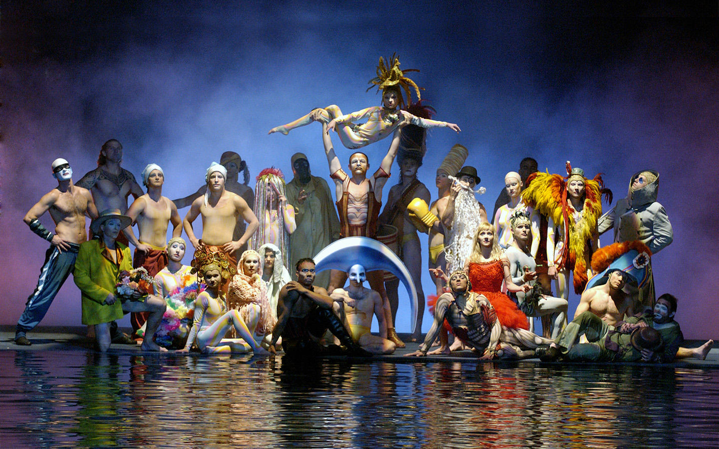 O Bellagio - Theater Production | O by Cirque du Soleil Bellagio ...