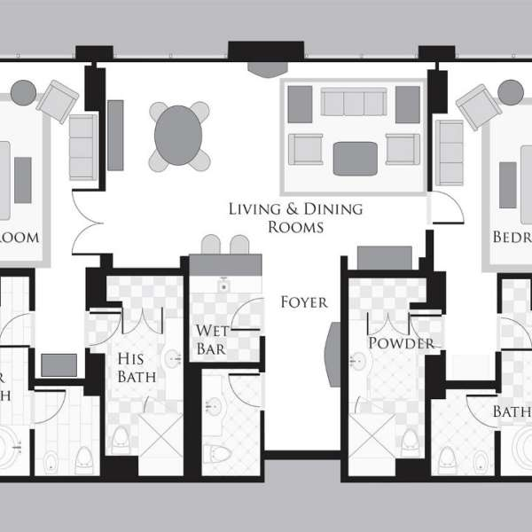 Two Bedroom Penthouse Suite