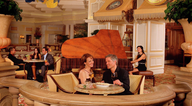 Petrossian Bar Lounge Bellagio Hotel Casino