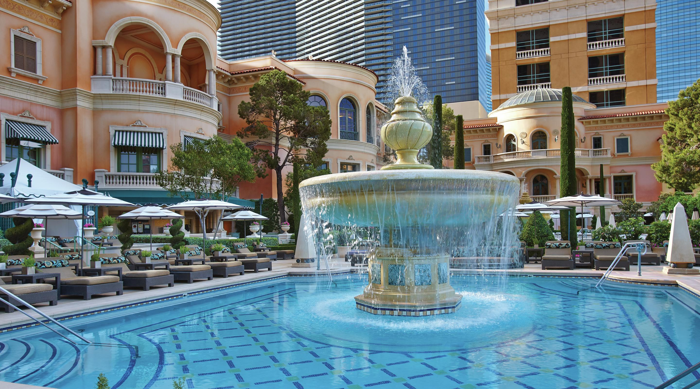 Pool & Cabanas - Bellagio Hotel & Casino